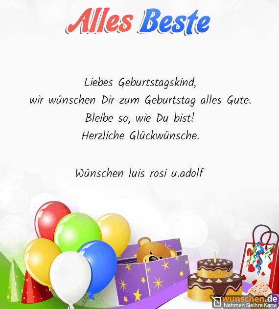 Whatsapp Alles Gute Zum Geburtstag
