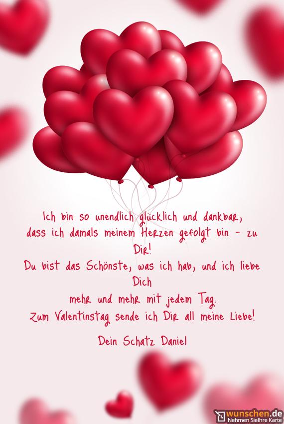 Valentinstag sms fur mein schatz